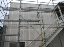 外壁防水工事170128
