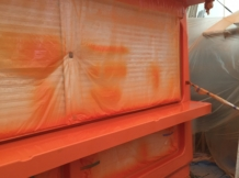FRP塗装工事170303